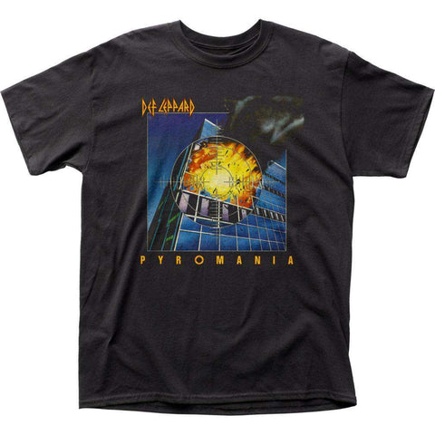 Men's T-Shirts - Def Leppard Pyromania T-Shirt