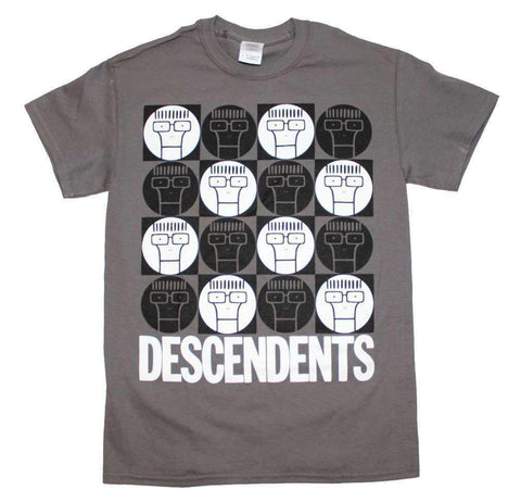 Men's T-Shirts - Descendents Milo Circle Pattern T-Shirt