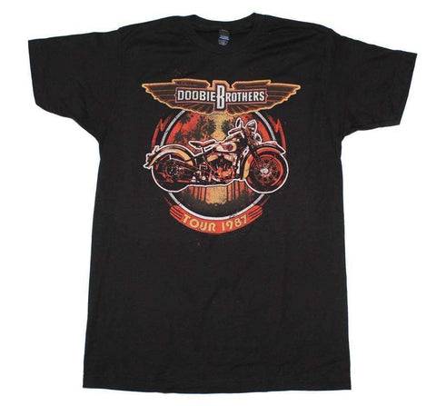 Men's T-Shirts - Doobie Brothers Motorcycle Tour T-Shirt