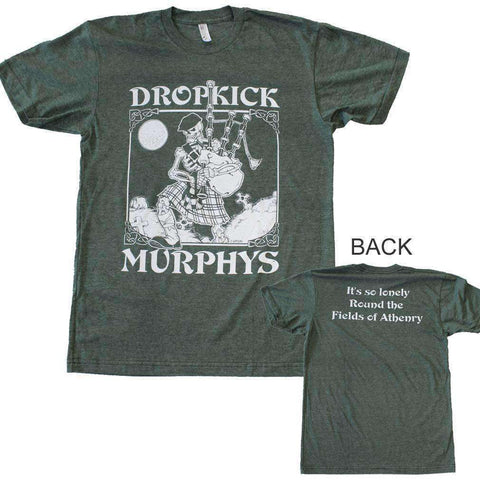 Men's T-Shirts - Dropkick Murphys Vintage Skeleton T-Shirt