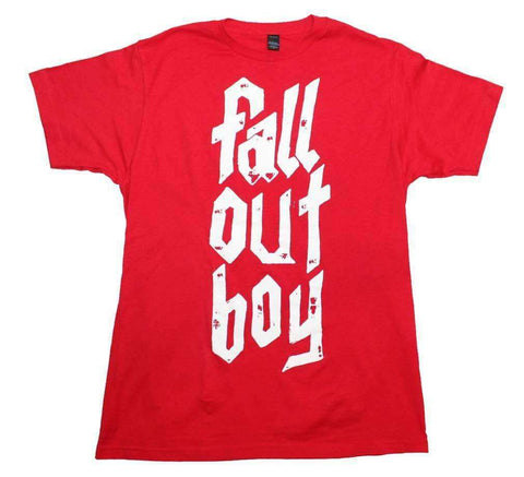 Men's T-Shirts - Fall Out Boy Metal Stack Soft T-Shirt