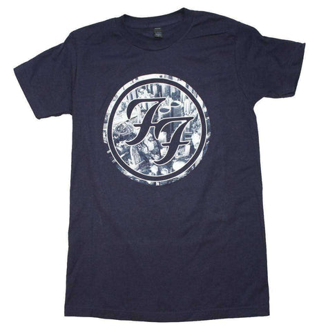 Men's T-Shirts - Foo Fighters City Circle Logo T-Shirt