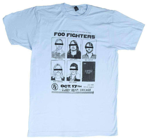 Men's T-Shirts - Foo Fighters Cubby Bear Chicago Soft T-Shirt