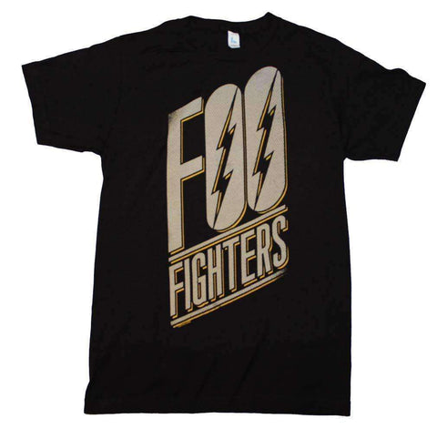 Men's T-Shirts - Foo Fighters Slanted Logo Slim Fit T-Shirt