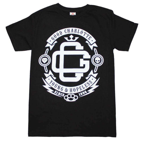Men's T-Shirts - Good Charlotte Young And Hopeless T-Shirt