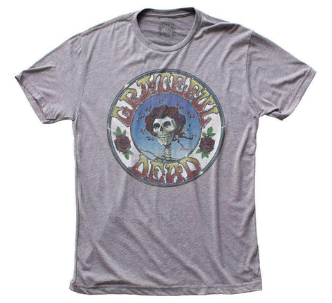 Men's T-Shirts - Grateful Dead Skull & Roses T-Shirt