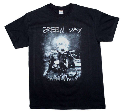 Men's T-Shirts - Green Day Nuke T-Shirt