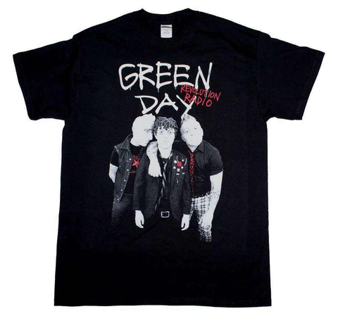 Men's T-Shirts - Green Day Red Hot T-Shirt