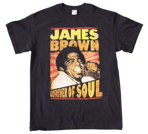 Men's T-Shirts - James Brown Godfather Of Soul T-Shirt