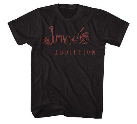 Men's T-Shirts - Janes Addiction Name T-Shirt