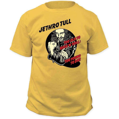 Men's T-Shirts - Jethro Tull Too Young To Die T-Shirt