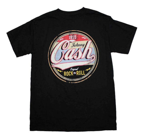 Men's T-Shirts - Johnny Cash Original Rock And Roll T-Shirt