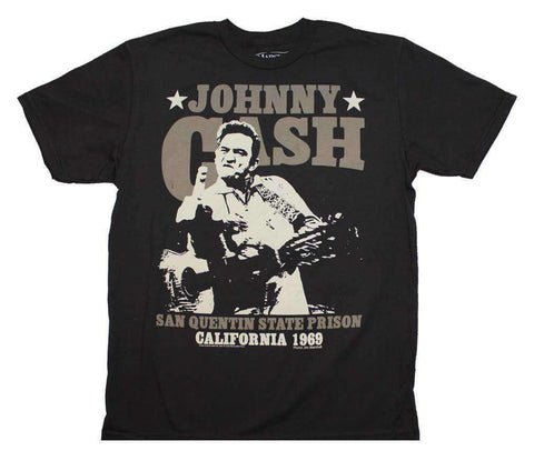 Men's T-Shirts - Johnny Cash San Quentin Stars T-Shirt