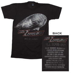 Image of Led Zeppelin Cities 1977 Tour T-Shirt
