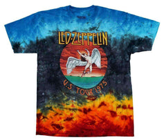 Image of Led Zeppelin Icarus 1975 Tie Dye T-Shirt