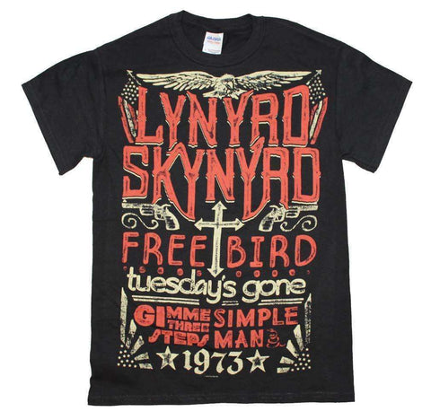 Men's T-Shirts - Lynyrd Skynyrd 1973 Hits T-Shirt