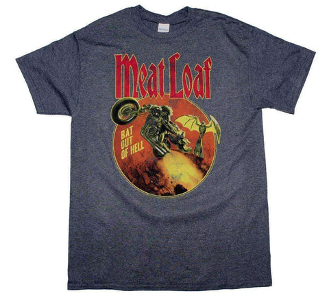 Men's T-Shirts - Meatloaf Bat Out Of Hell T-Shirt