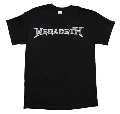Men's T-Shirts - Megadeth Logo T-Shirt