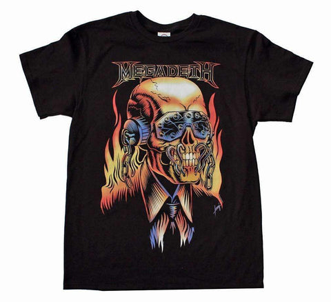 Men's T-Shirts - Megadeth Vic Rattlehead T-Shirt