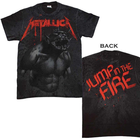 Men's T-Shirts - Metallica Jump In The Fire All Over T-Shirt