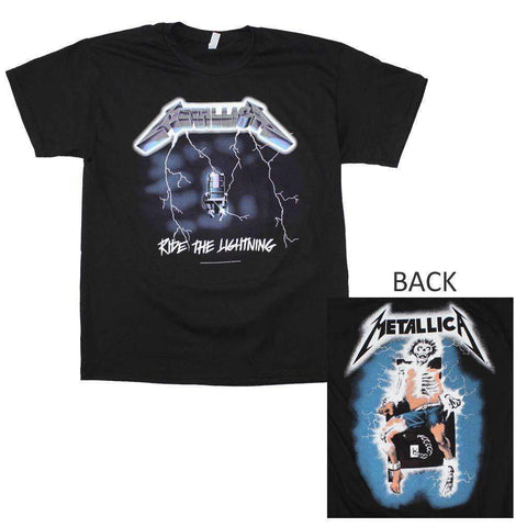 Men's T-Shirts - Metallica Ride The Lightning T-Shirt