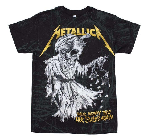 Men's T-Shirts - Metallica Tip The Scales T-Shirt