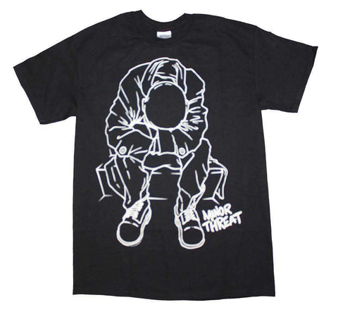 Men's T-Shirts - Minor Threat Outline T-Shirt