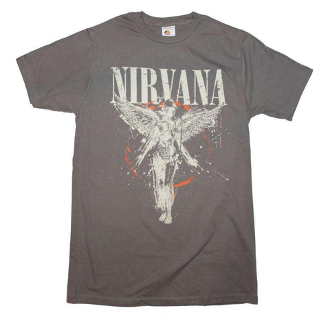 Men's T-Shirts - Nirvana Galaxy In Utero T-Shirt