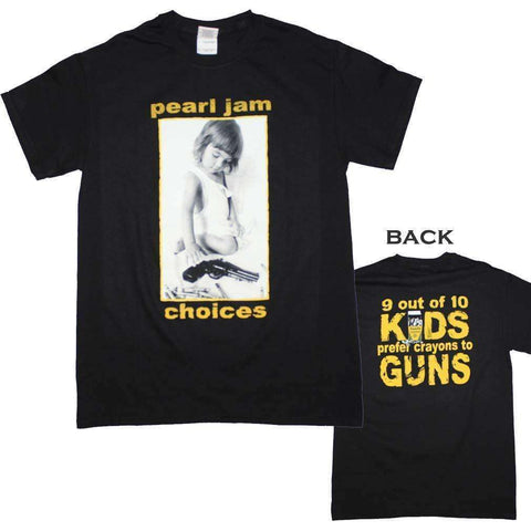 Men's T-Shirts - Pearl Jam Choices T-Shirt