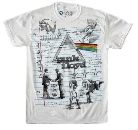 Men's T-Shirts - Pink Floyd Sketch T-Shirt