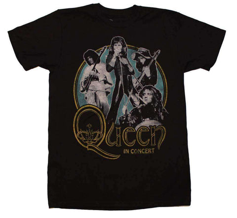 Men's T-Shirts - Queen In Concert 30/1 T-Shirt