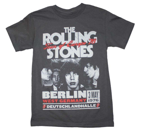 Men's T-Shirts - Rolling Stones Europe 76 Tour T-Shirt