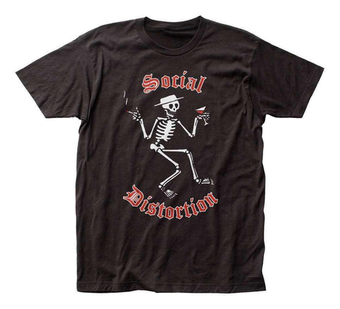 Men's T-Shirts - Social Distortion Skelly Logo T-Shirt