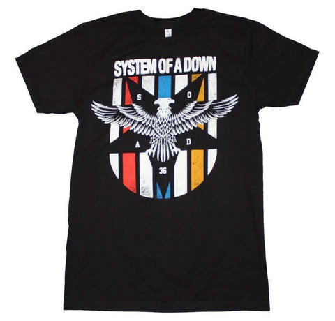 Men's T-Shirts - System Of A Down Eagle Colors T-Shirt