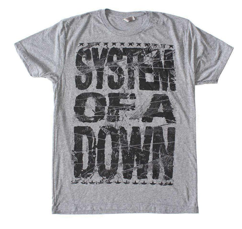 Men's T-Shirts - System Of A Down Shattered T-Shirt