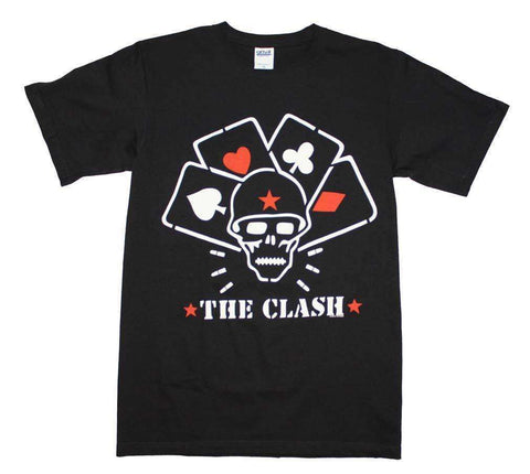Men's T-Shirts - The Clash Straight To Hell Cards T-Shirt