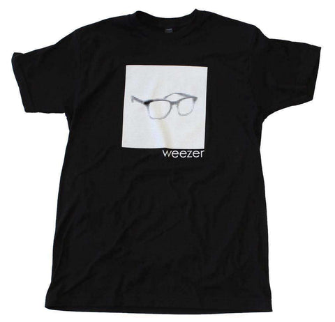 Men's T-Shirts - Weezer Pixel Glasses T-Shirt