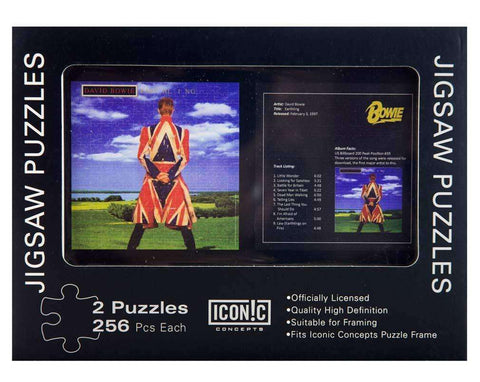 Puzzles - David Bowie Earthling Dual Puzzle Pack (2 Puzzles)