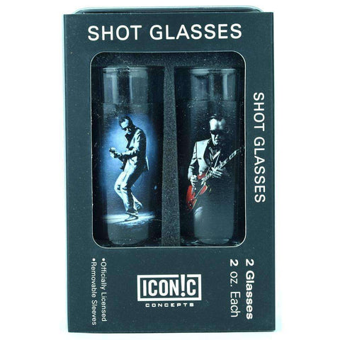 Shot Glasses - Joe Bonamassa Red Guitar Shot Glasses (2 Pack)