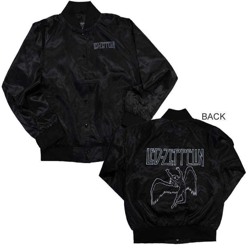 Women's Jackets - Led Zeppelin Icarus Juniors Satin Jacket