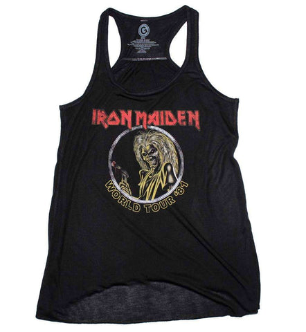 Women's T-Shirts - Iron Maiden Killers 81 Juniors Tank
