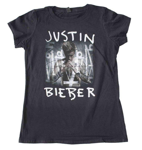 Women's T-Shirts - Justin Bieber Purpose Juniors T-Shirt