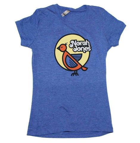 Women's T-Shirts - Nora Jones Bird Juniors T-Shirt