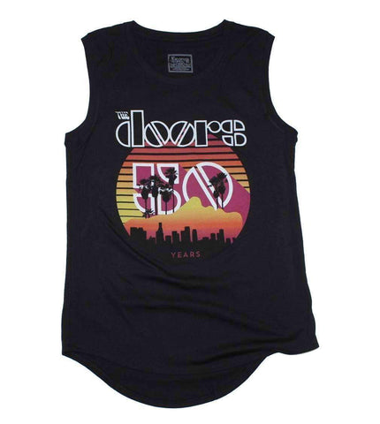 Women's T-Shirts - The Doors Sunset 50th Juniors Tank Top