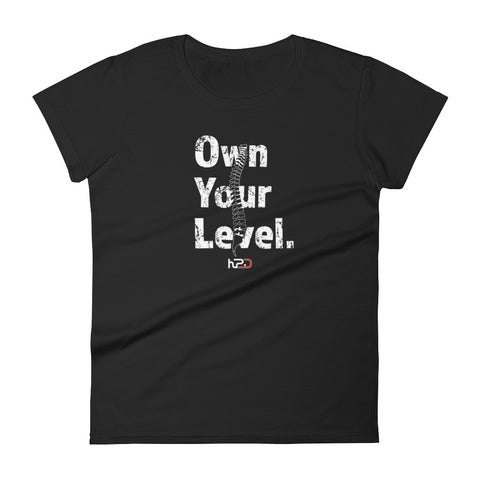 OWN YOUR LEVEL  Women's short sleeve t-shirt