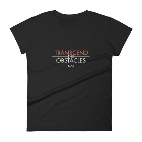 TRANSCEND THE OBSTACLES SHORT-SLEEVE WOMEN'S T-SHIRT