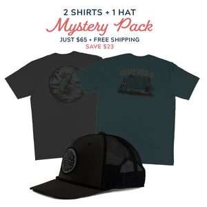 2 Shirts + 1 Hat Mystery Pack