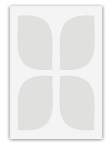 Grey Pattern Card