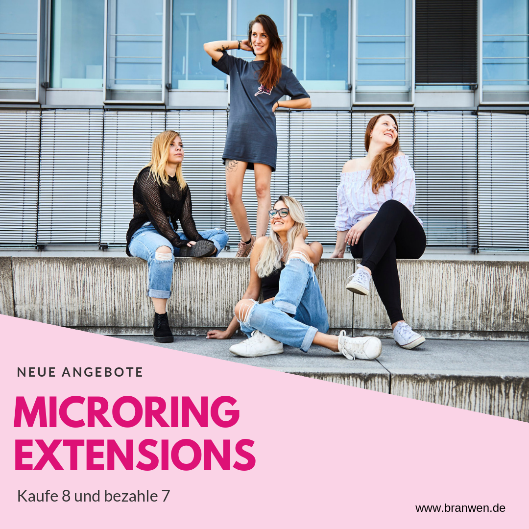 Microring Extensions-Kaufe 8-bezahle 7