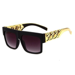 Gold Cuban Link Sunglasses